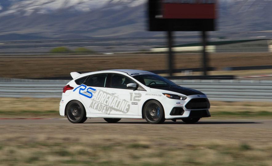 From Track to Mountain Peak at Ford's Focus RS and Raptor Driving Schools - Slide 77
