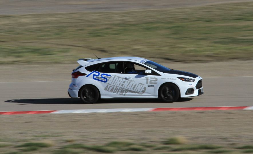 From Track to Mountain Peak at Ford's Focus RS and Raptor Driving Schools - Slide 78