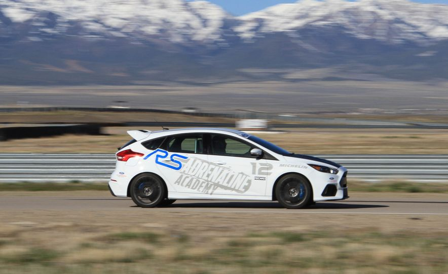 From Track to Mountain Peak at Ford's Focus RS and Raptor Driving Schools - Slide 79