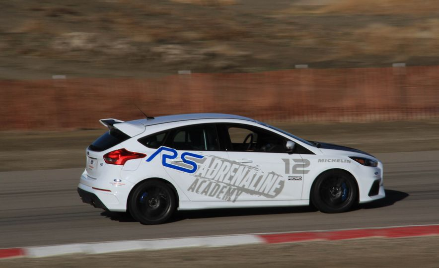 From Track to Mountain Peak at Ford's Focus RS and Raptor Driving Schools - Slide 80