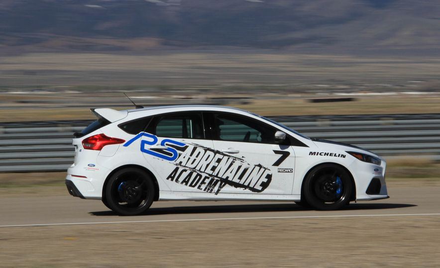 From Track to Mountain Peak at Ford's Focus RS and Raptor Driving Schools - Slide 82