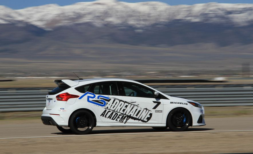 From Track to Mountain Peak at Ford's Focus RS and Raptor Driving Schools - Slide 83