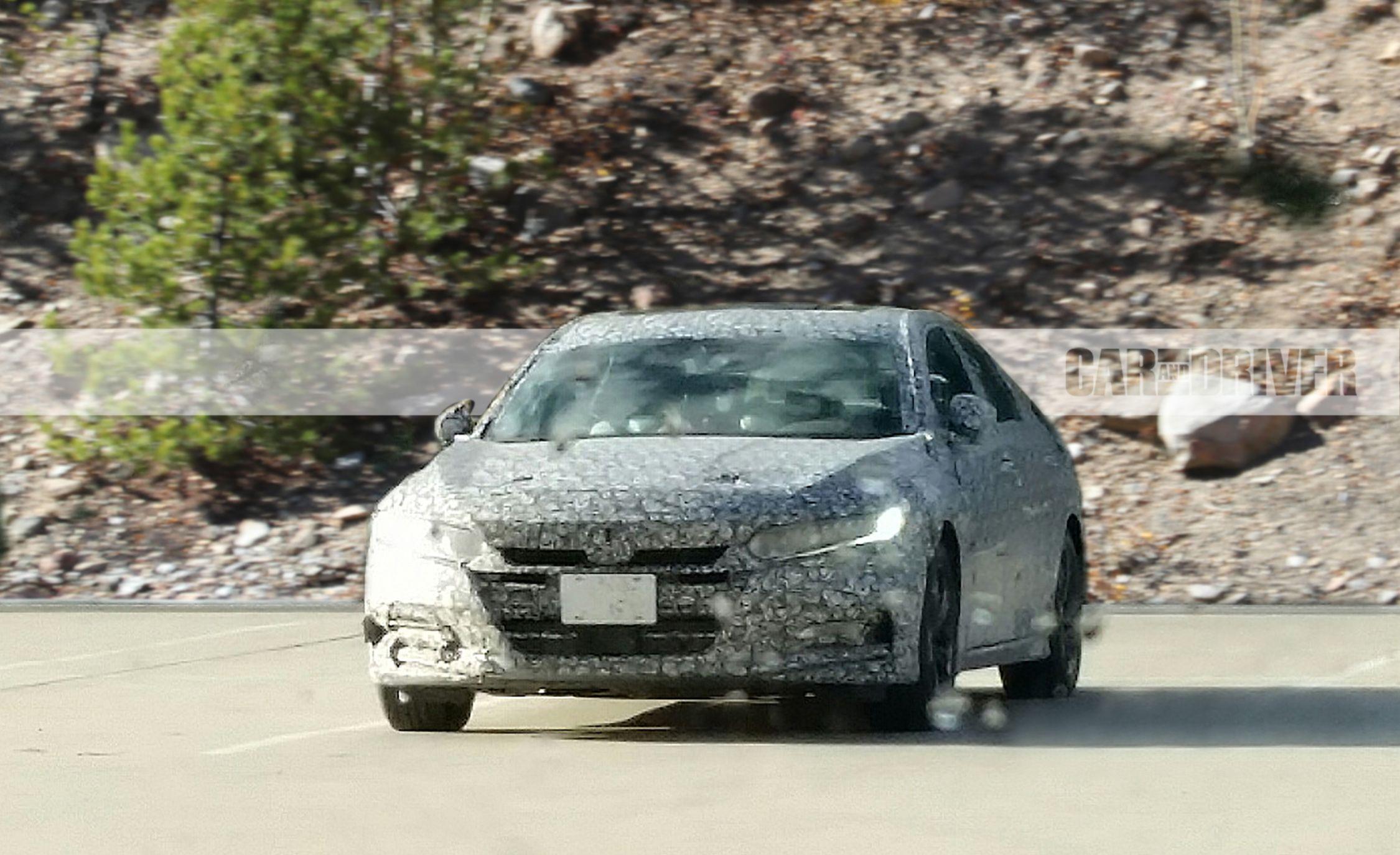 2018 Honda Accord (spy photo) - Photo Gallery | Car and Driver