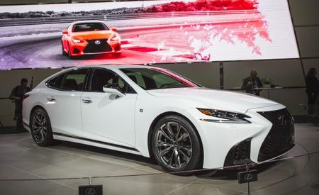 Same Power, More Juice? Lexus Announces 2018 LS F Sport
