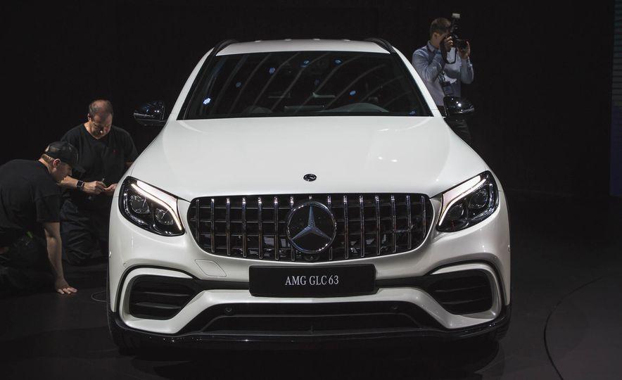 2018 Mercedes-AMG GLC63 - Slide 1