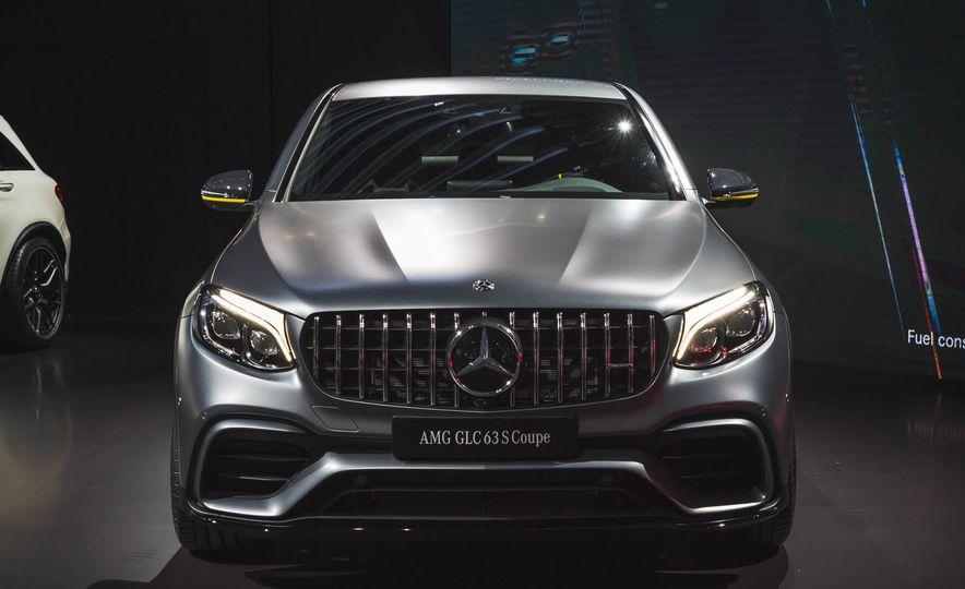 2018 Mercedes-AMG GLC63 S coupe - Slide 1