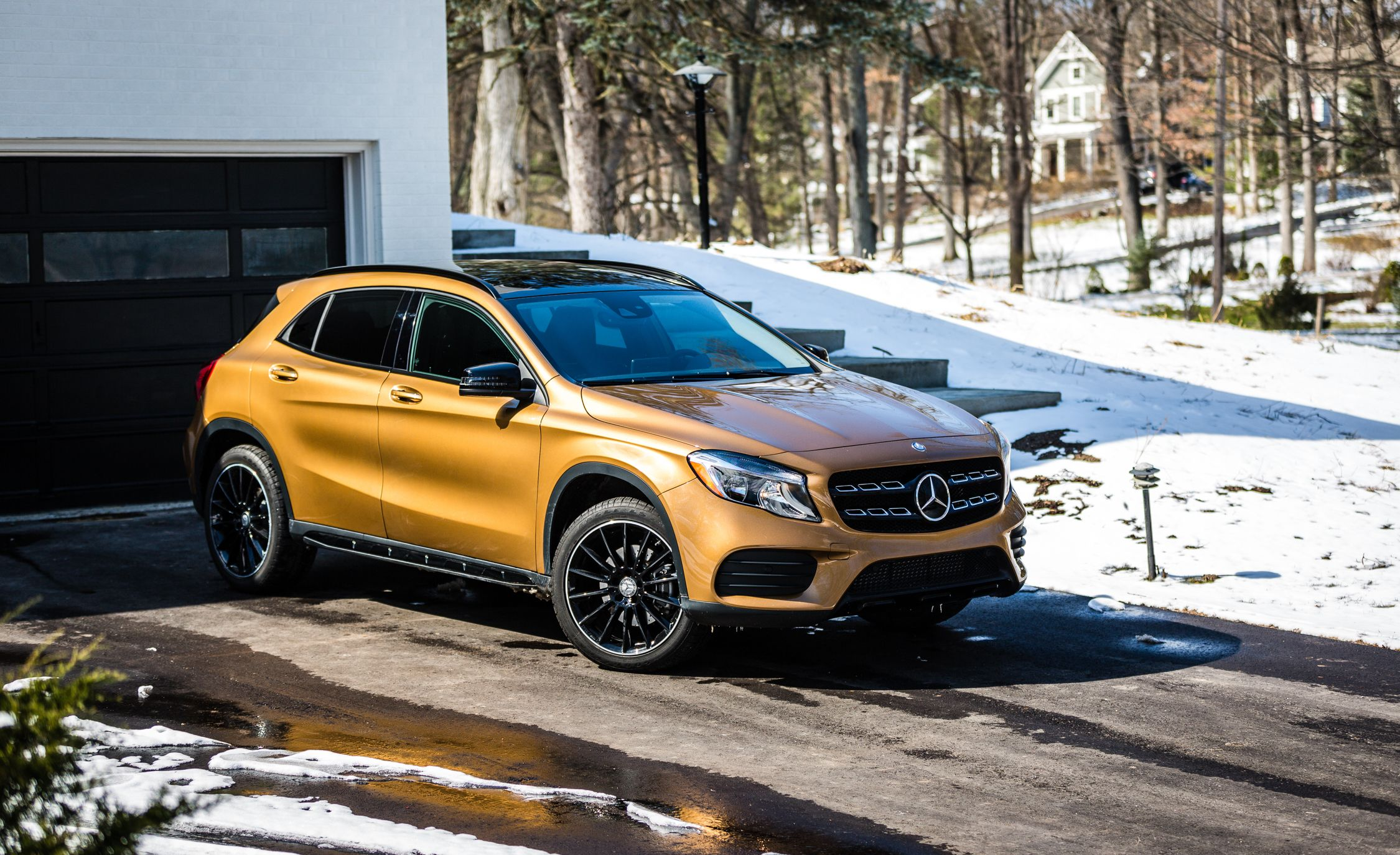 2019 Mercedes Benz Gla Cl Reviews Price Photos And Specs Car Driver