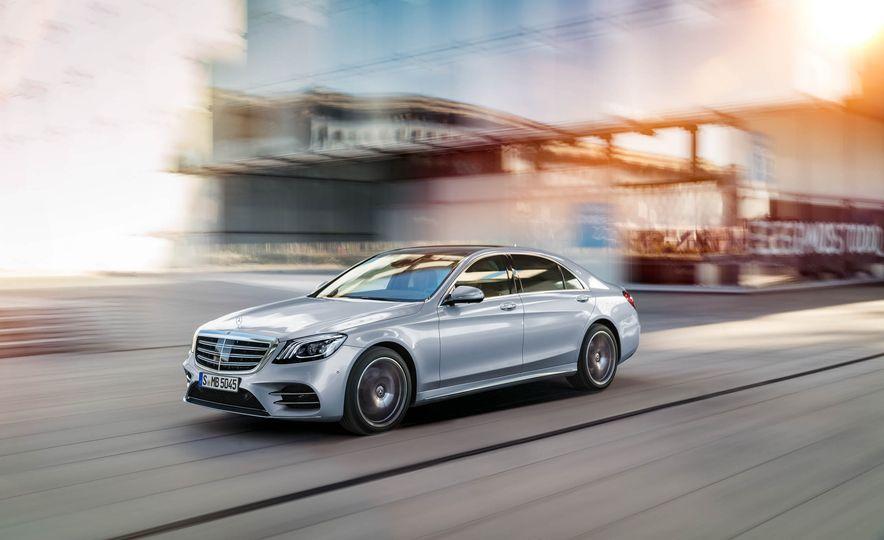 2018 Mercedes-Benz S-Class - Slide 1
