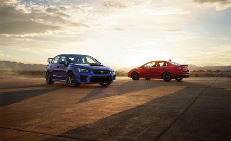 Boxer Beans: Subaru Announces 2018 WRX and STI Pricing