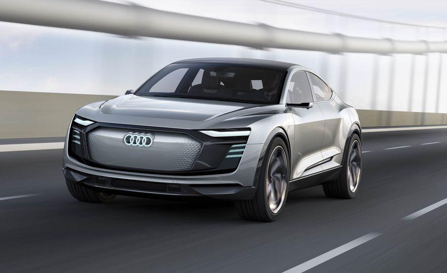Audi e-tron Sportback concept - Slide 1