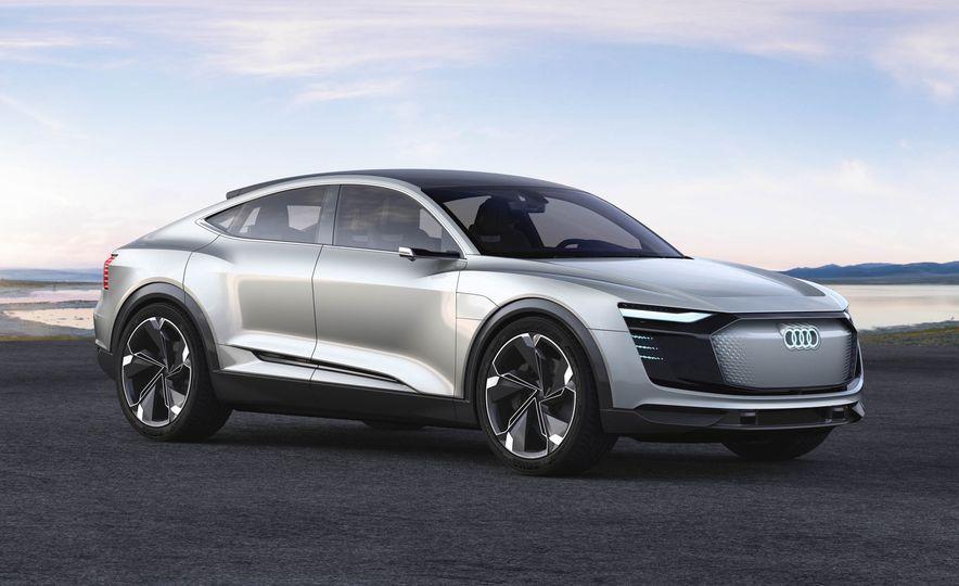 Audi e-tron Sportback concept - Slide 4