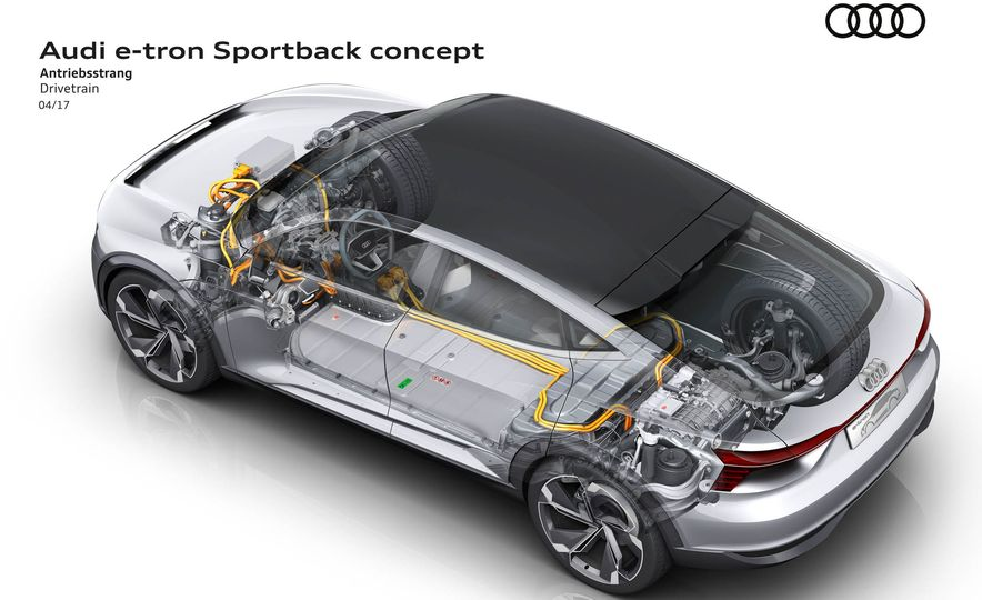 Audi e-tron Sportback concept - Slide 15