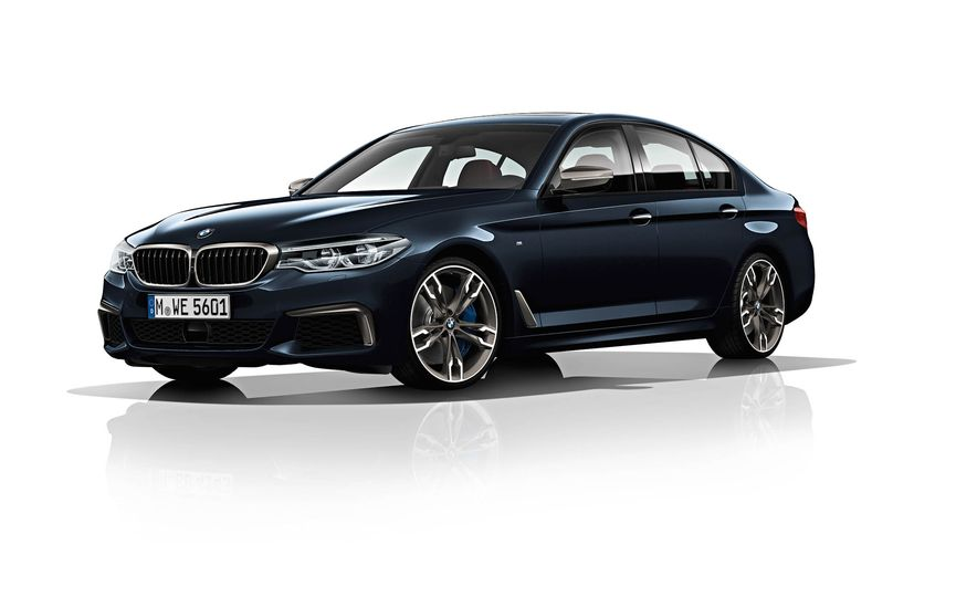 BMW M550d xDrive - Slide 2