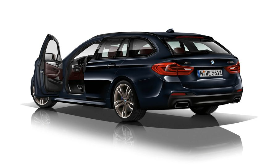 BMW M550d xDrive - Slide 7