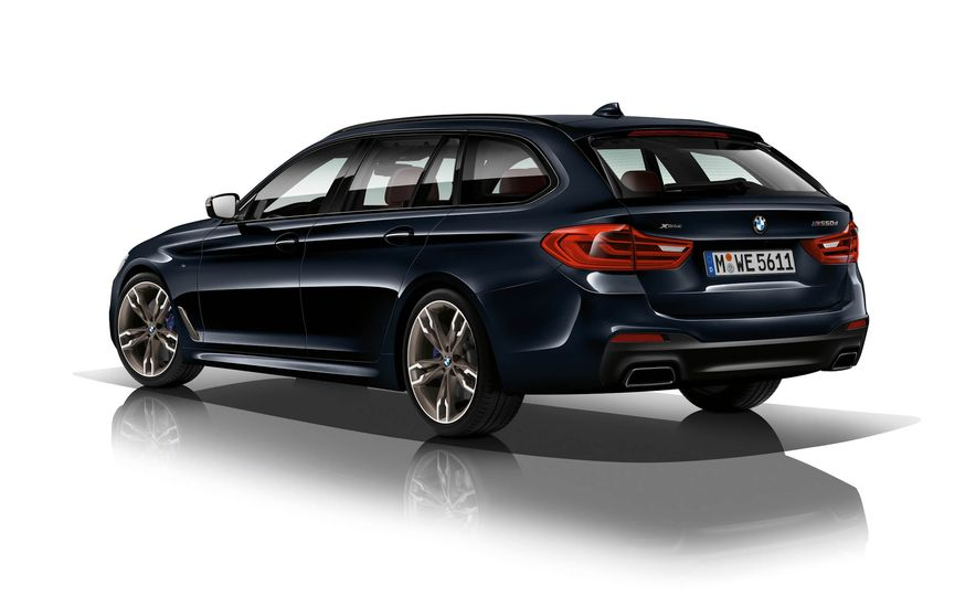 BMW M550d xDrive - Slide 8