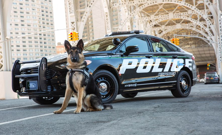 Ford Police Responder Hybrid Sedan - Slide 7
