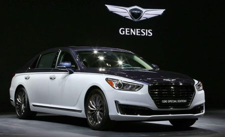 Genesis Targets the High-End VIP Exclusive Market with a Two-Tone G90
