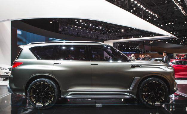 Infiniti Debuts Qx80 Monograph Concept News Car And Driver
