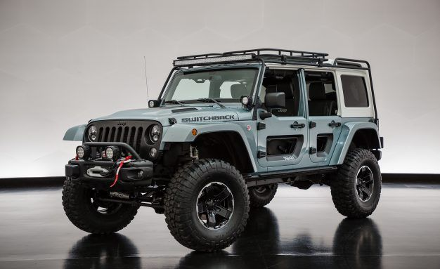 Choose Your Adventure: Jeep Unveils Wrangler Switchback and Safari Concepts