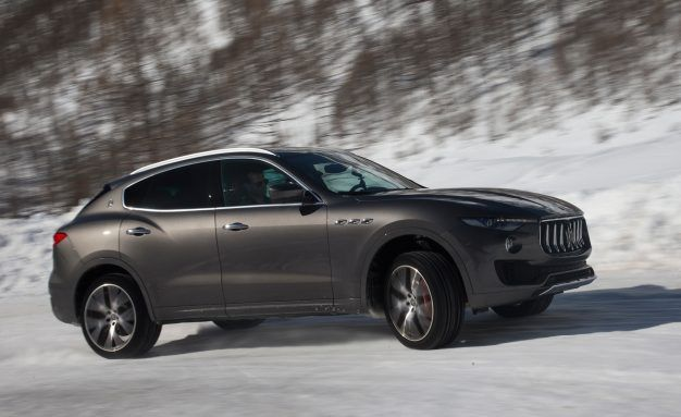 Maserati 4 wheel drive
