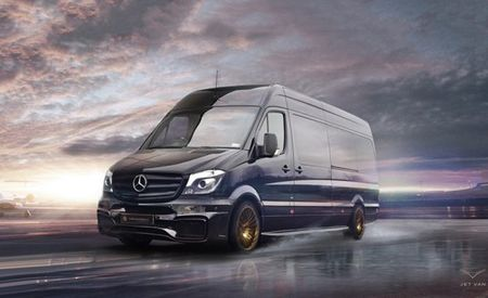 Mercedes-Benz Sprinter Jet Van: Slower Than a Jet, Fancier Than Most Vans