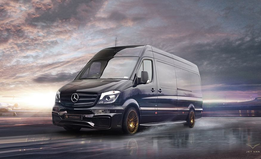 Mercedes-Benz Sprinter Jet Van by Carlex Design - Slide 1
