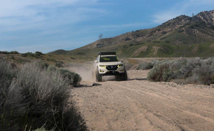 Nissan Rogue Trail Warrior concept - Slide 1