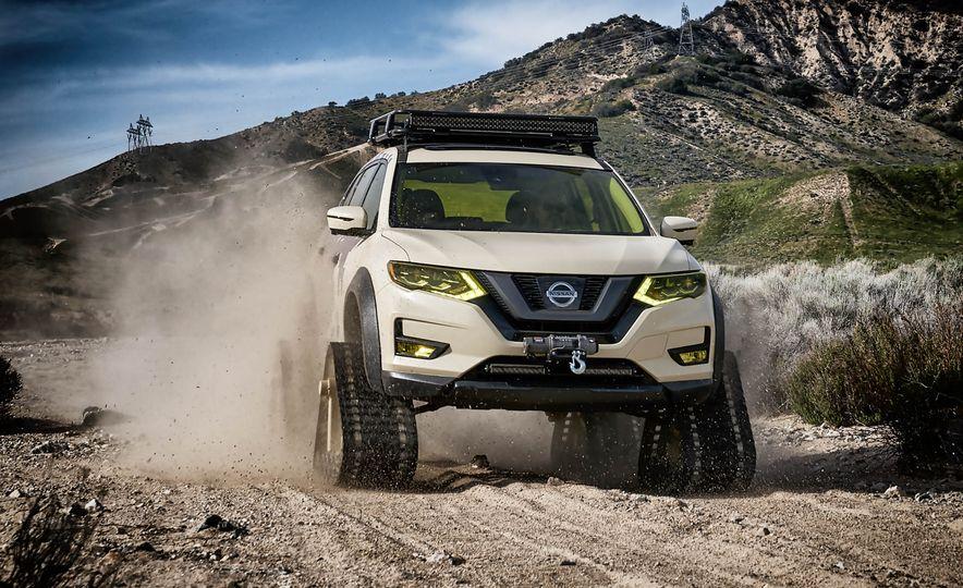 Nissan Rogue Trail Warrior concept - Slide 3