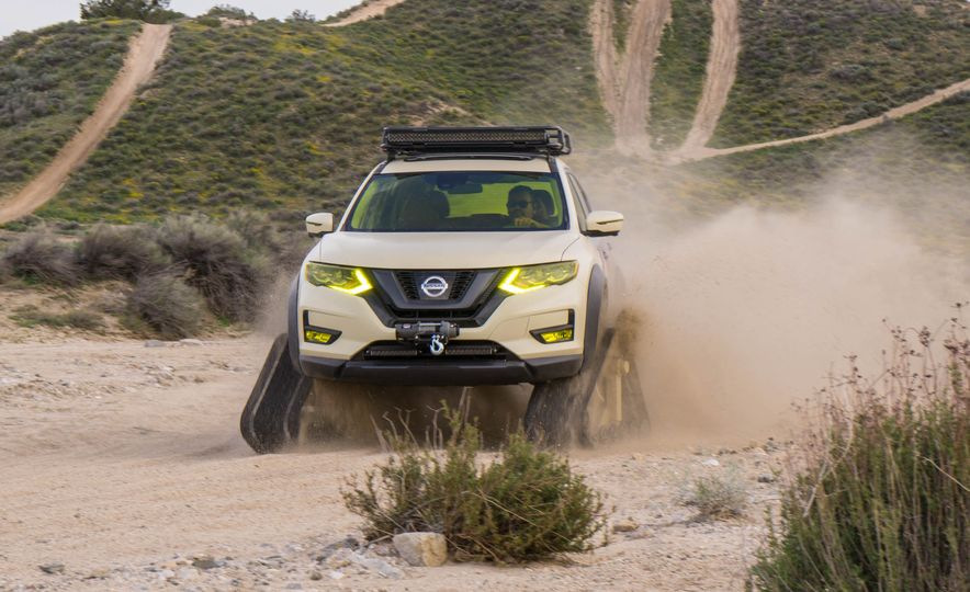 Nissan Rogue Trail Warrior concept - Slide 4