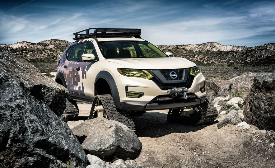 Nissan Rogue Trail Warrior concept - Slide 8
