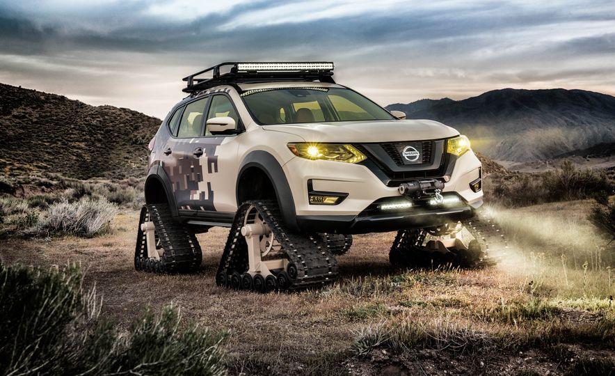 Nissan Rogue Trail Warrior concept - Slide 9