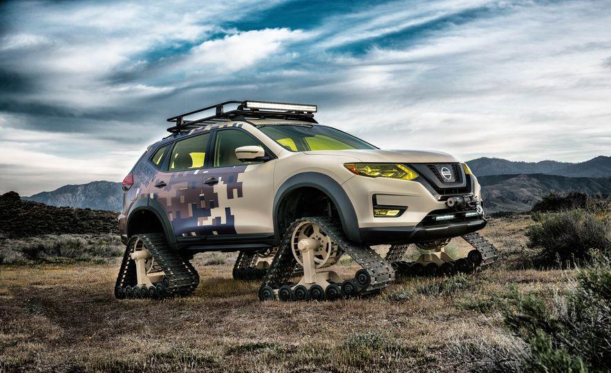 Nissan Rogue Trail Warrior concept - Slide 10
