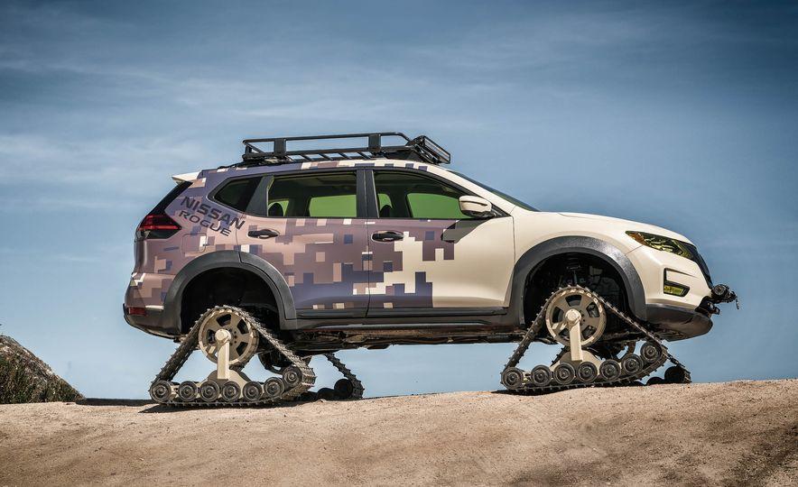 Nissan Rogue Trail Warrior concept - Slide 11