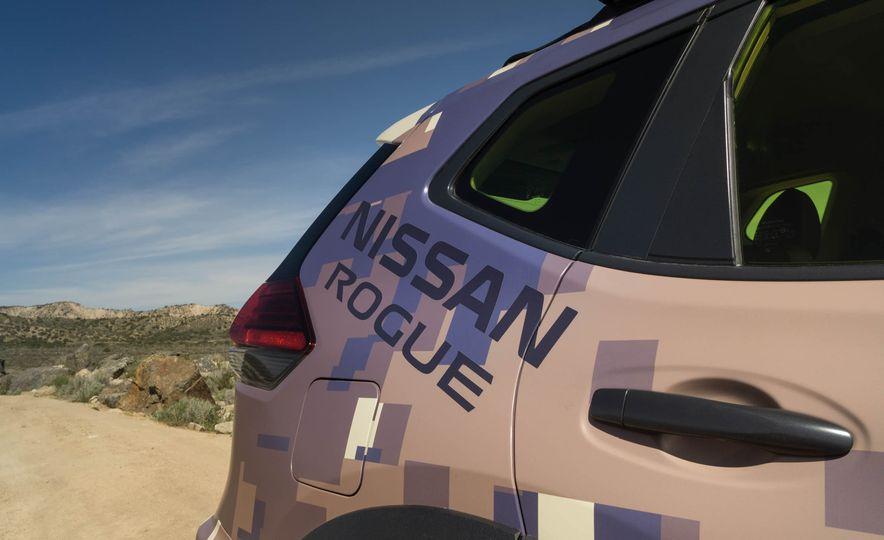 Nissan Rogue Trail Warrior concept - Slide 14