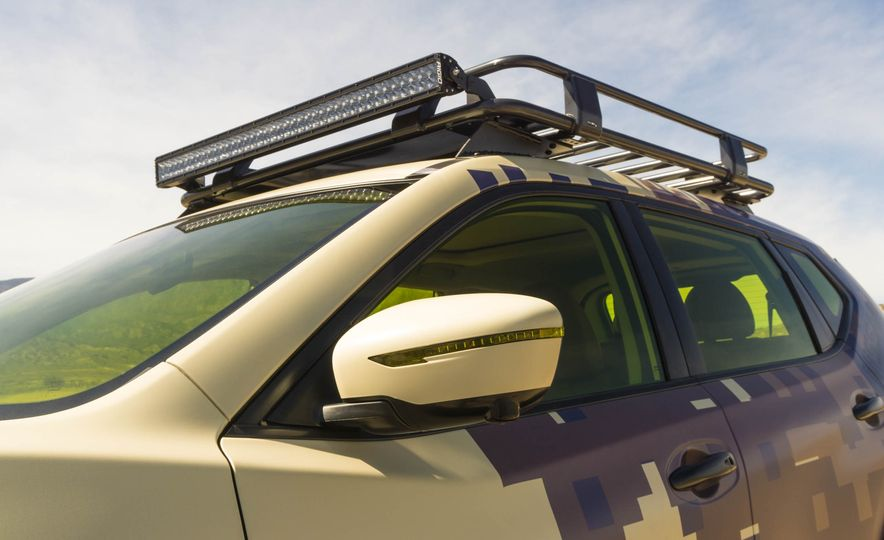 Nissan Rogue Trail Warrior concept - Slide 15