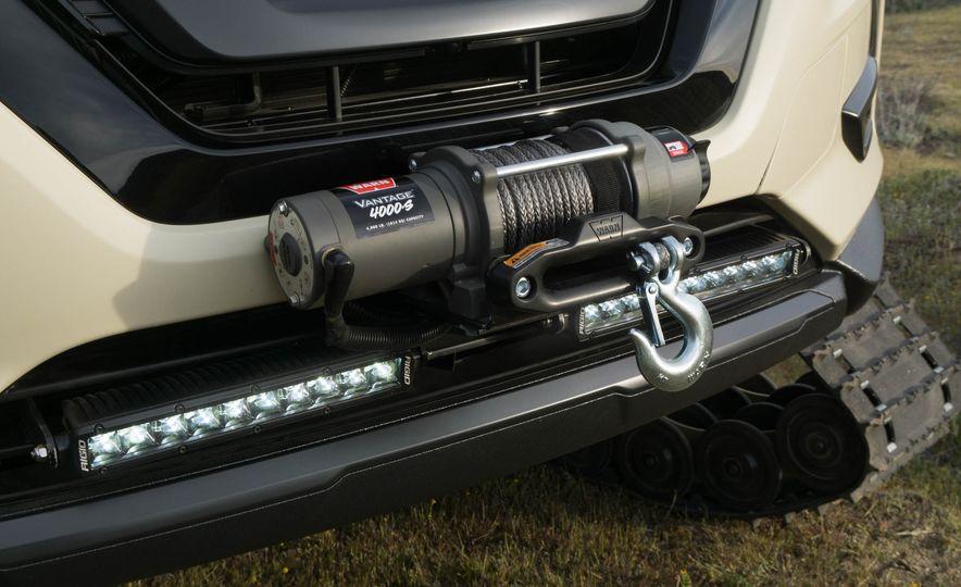 Nissan Rogue Trail Warrior concept - Slide 17