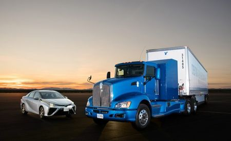 Scaling Up: Toyota Putting Mirai Hydrogen Fuel-Cell Tech in a Semi