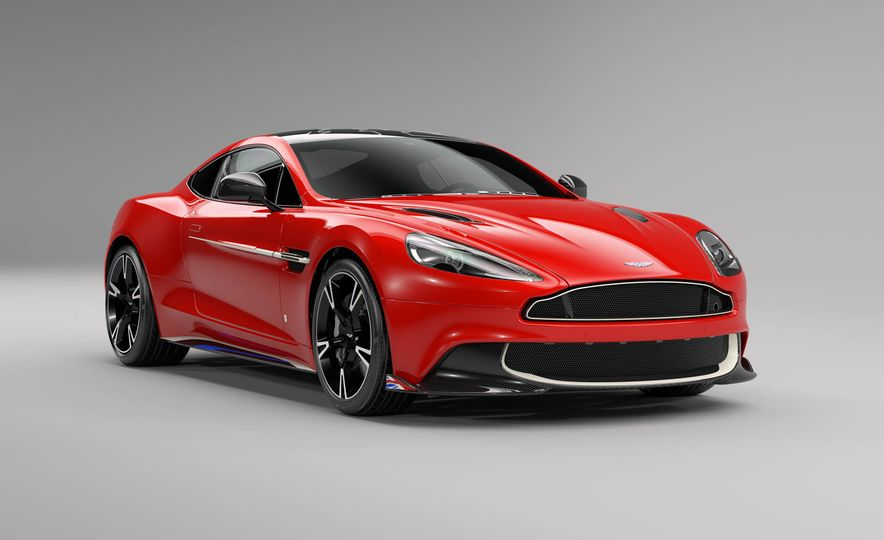 Q by Aston Martin Vanquish S Red Arrows Edition - Slide 1