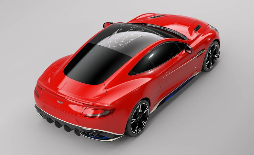 Q by Aston Martin Vanquish S Red Arrows Edition - Slide 3
