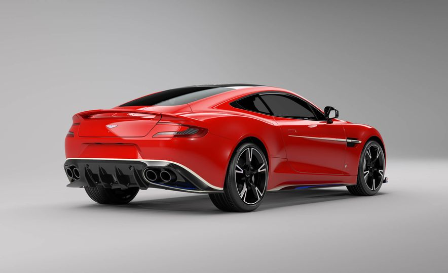 Q by Aston Martin Vanquish S Red Arrows Edition - Slide 4