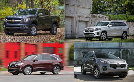 Eight Intriguing Truck and SUV Lease Deals of the Moment