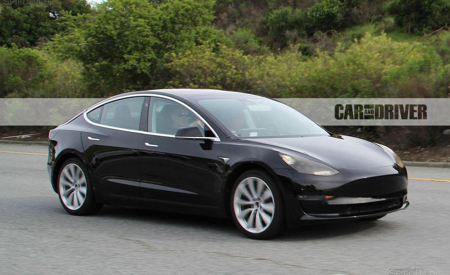 2017 Tesla Model 3 (spy photo) - Slide 1