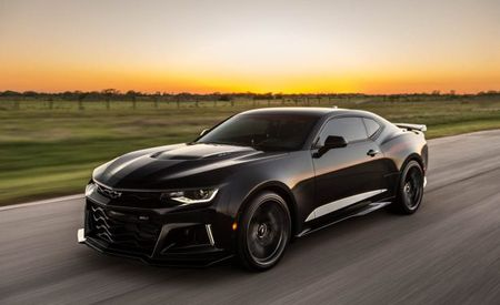 Halo Product: 1000-HP Hennessey Camaro ZL1 Exorcist Wants to Battle Demons