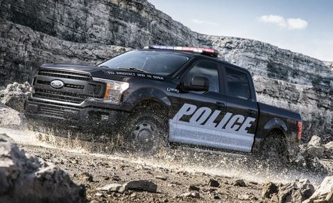 New 2018 Ford Expedition Adds a Police-Outfitted Version ...