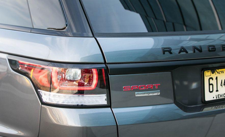 2017 Land Rover Range Rover Sport Autobiography - Slide 34