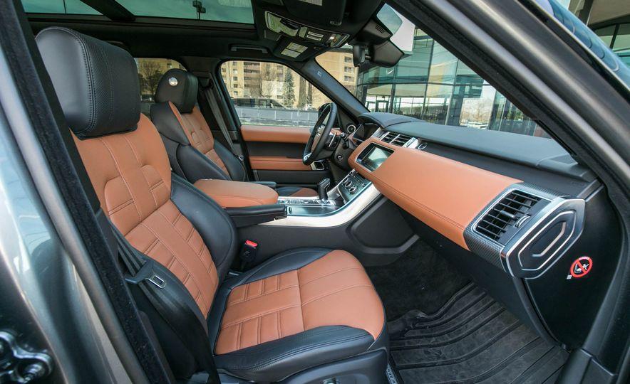 2017 Land Rover Range Rover Sport Autobiography - Slide 76