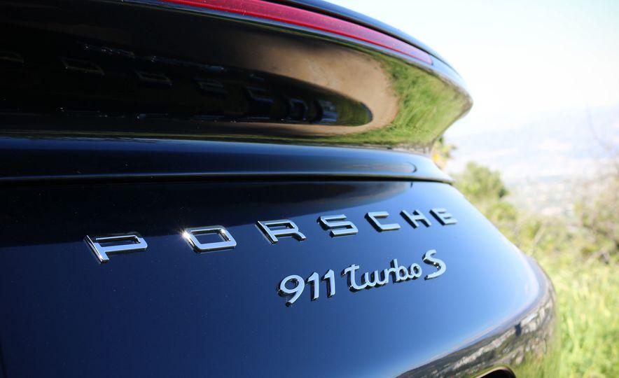 2017 Porsche 911 Turbo S cabriolet - Slide 28