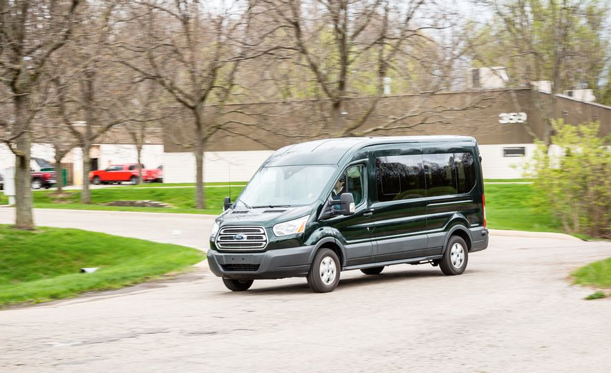 2017 Ford Transit 350 wagon - Slide 1