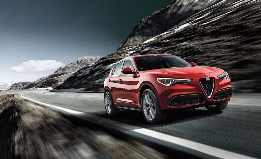 Alfa Romeo Stelvio Priced: Italian Crossover Starts at $42,990 - Slide 1