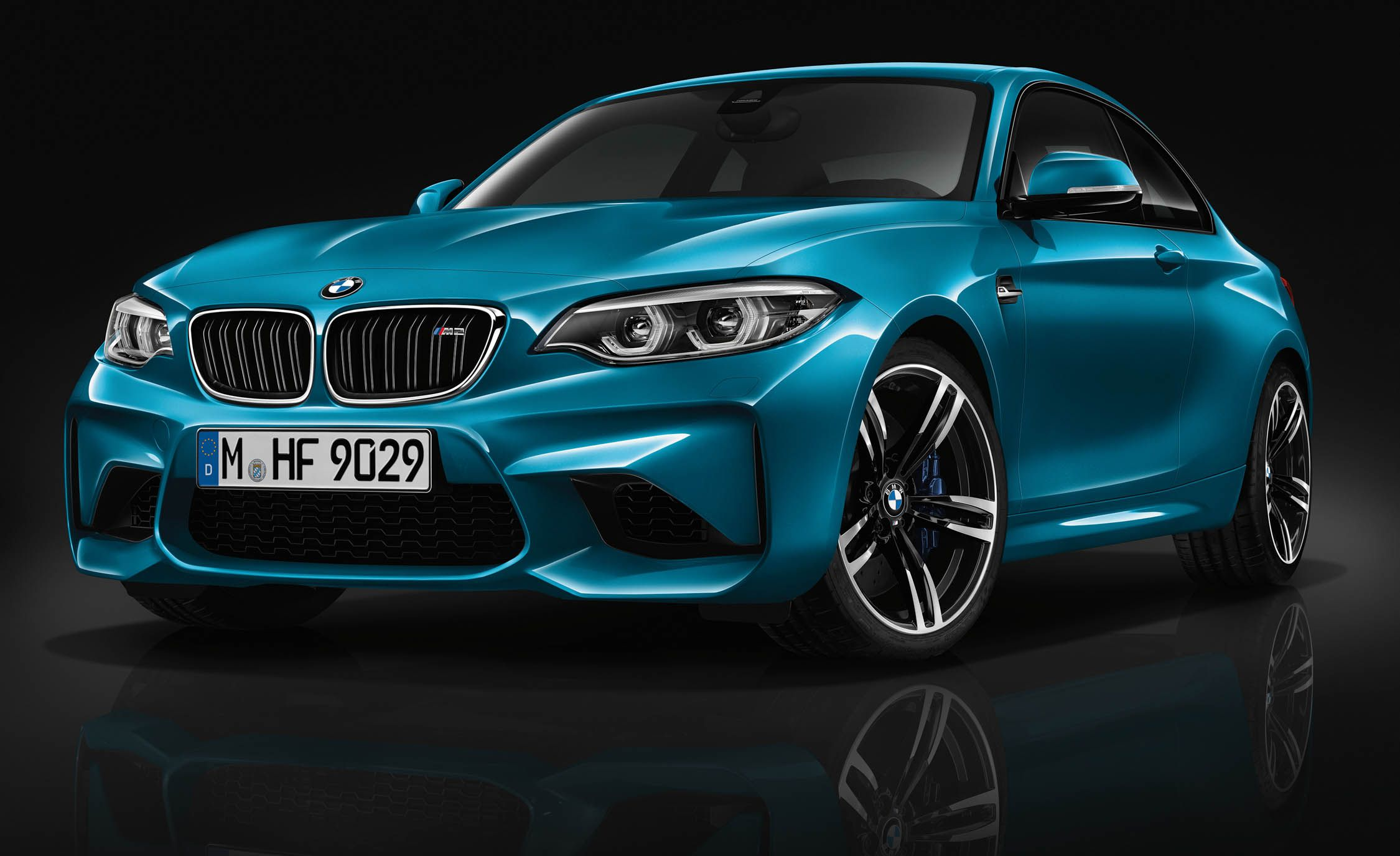 bmw refreshes m2 sports coupe for 2018 | news | car and driver